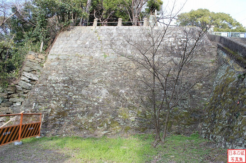 Wakayama Castle The ruins of Main enclosure
