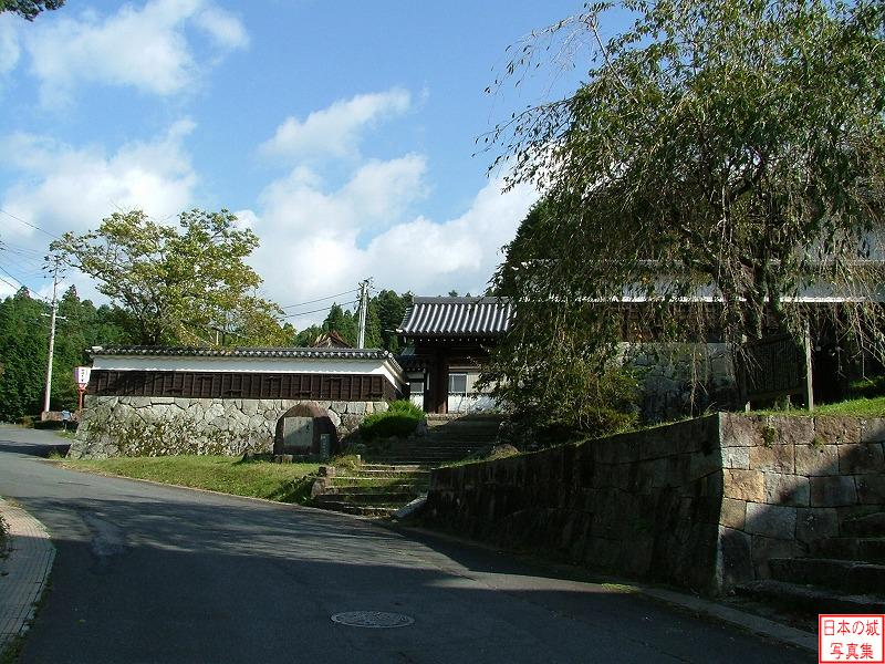 Iwamura Castle Outside of Feudal lord's residence