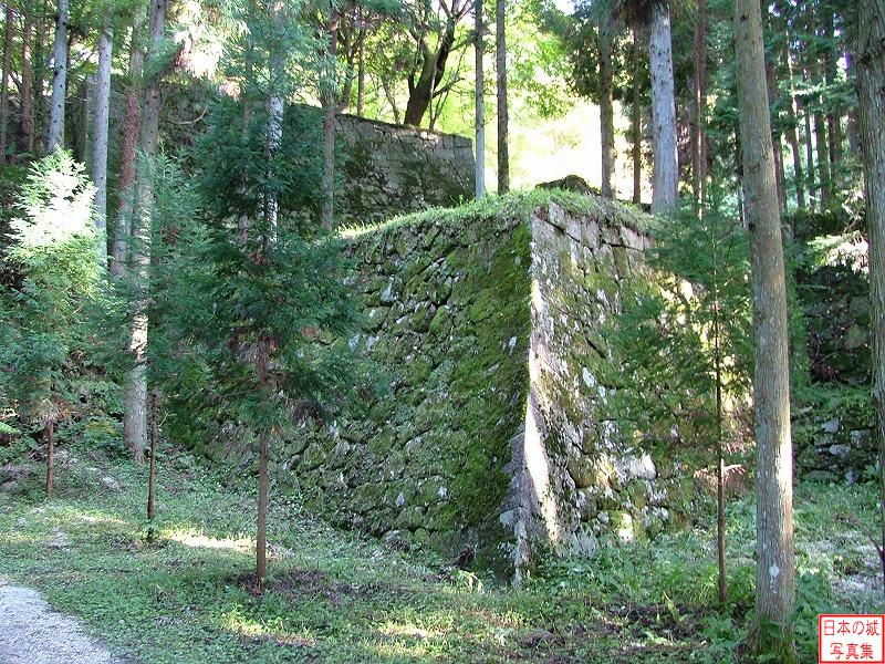 Iwamura Castle The ruins of main gate