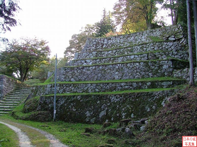 Iwamura Castle East enclosure