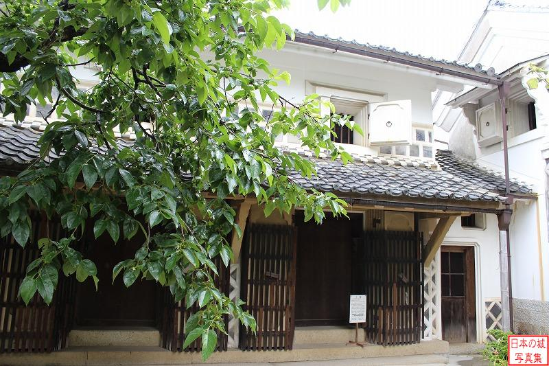 Iwamura Castle Relocated storehousea warehouse (Storehousea warehouse of Katsukawas)