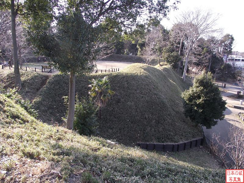 Chigasaki Castle East enclosure