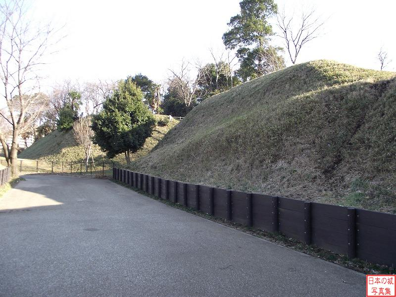 Chigasaki Castle North enclosure