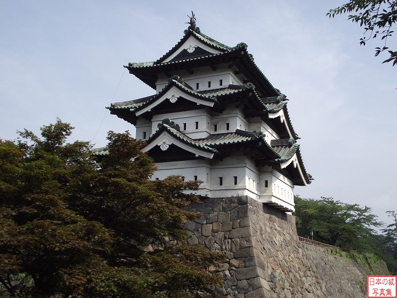 Hirosaki Castle Main tower