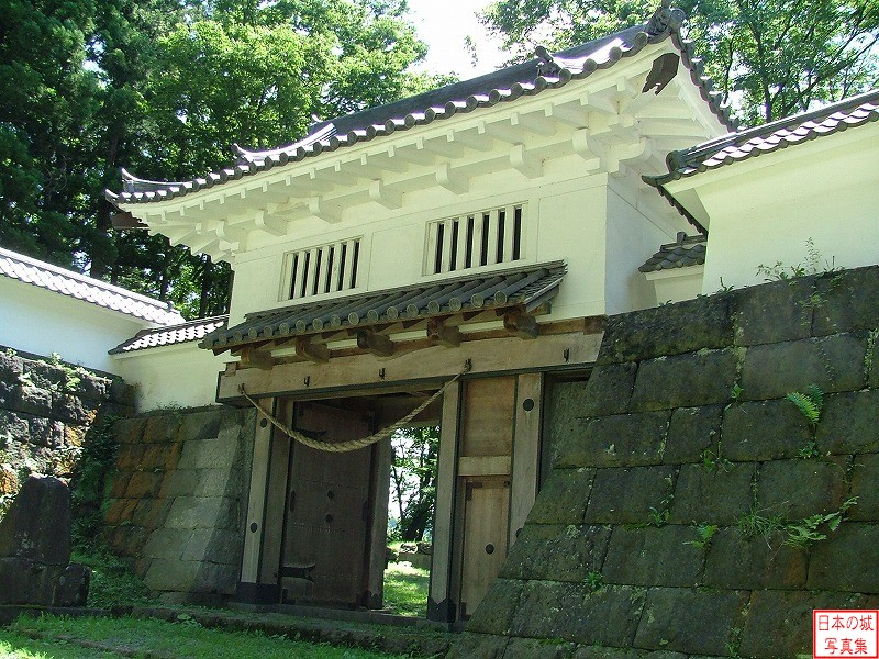 Sannohe Castle Tsunagomon gate