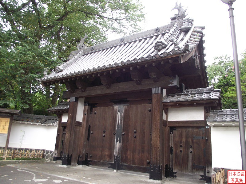 Sendai Castle Relocated gate (Official residence)