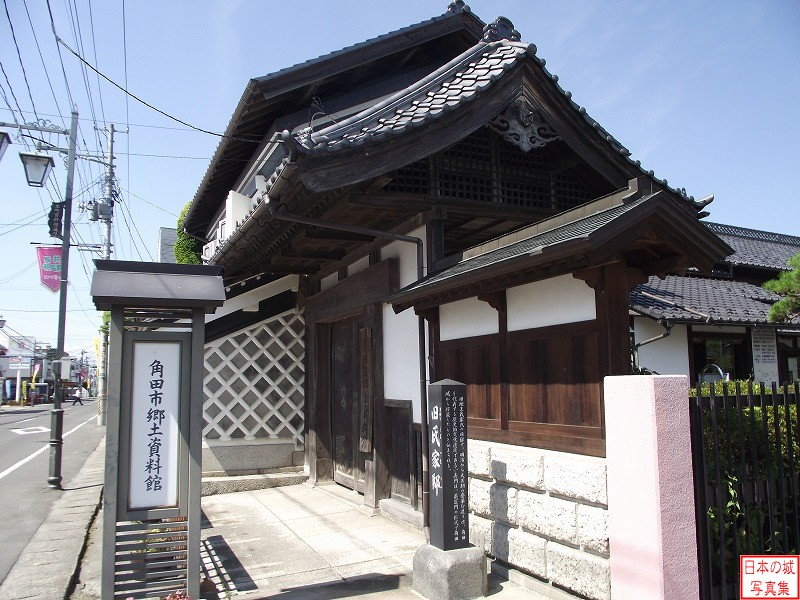 Kakuda Castle Relocated gate (Main gate of Ujiie residence)