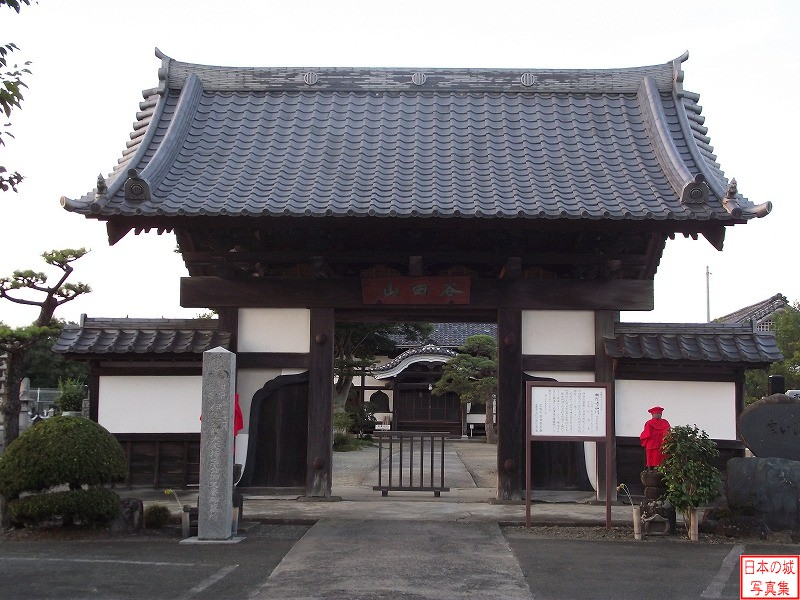 Shiroishi Castle Relocated gate (Main gate or Umaya gate)