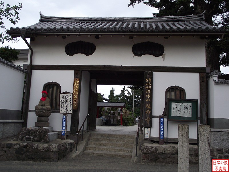 Shiroishi Castle Relocated gate (Umayaguchi gate)