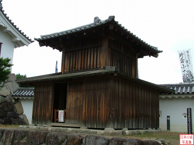 Shiroishi Castle Main enclosure
