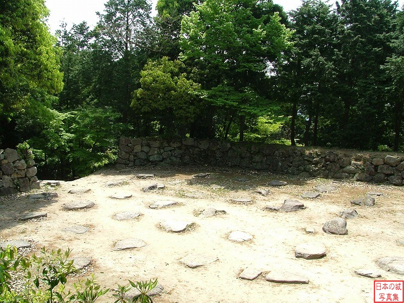 Azuchi Castle Base of the donjon
