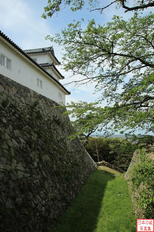 Hikone Castle South enclosure Sanjyuu turret