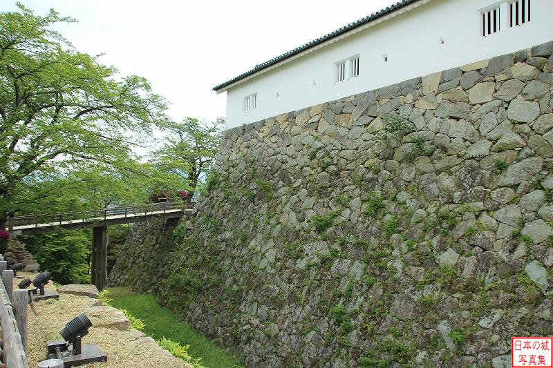 Hikone Castle Big trench and Demaru enclosure