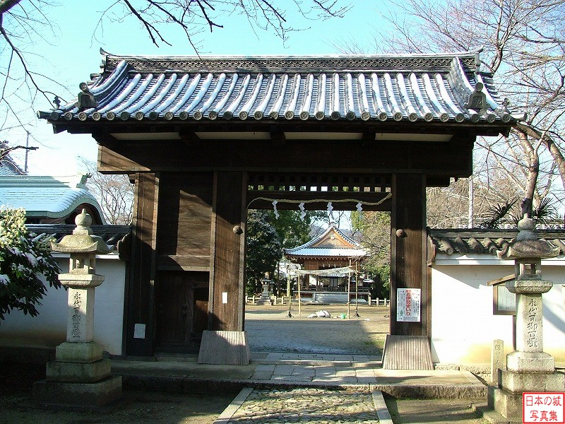 Zeze Castle Relocated gate (Main gate of Zeze Shrine)