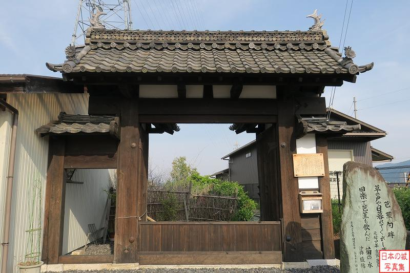 Zeze Castle Relocated gate (Old main gate of Choutoku temple)