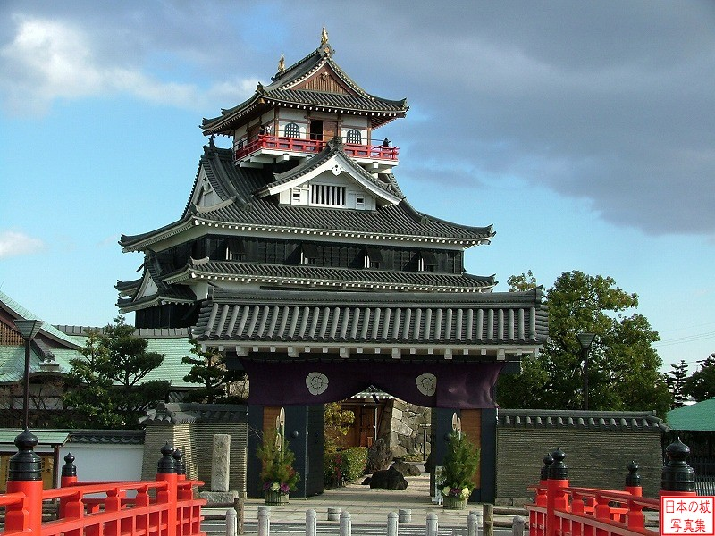Kiyosu Castle Main tower
