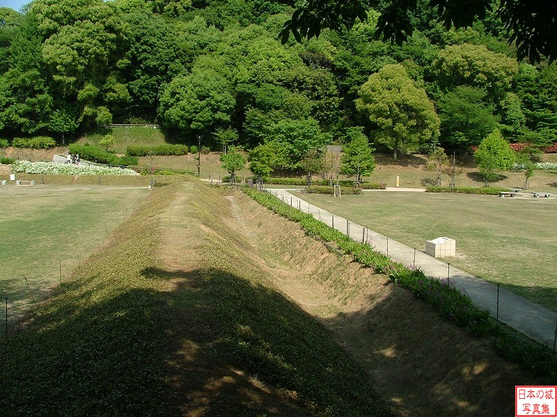 Komakiyama Castle Obi enclosure