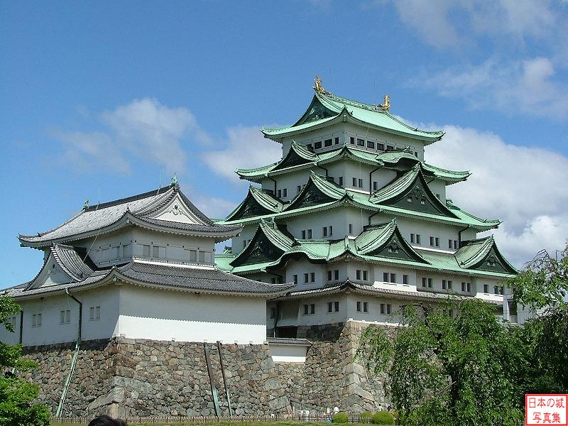 Nagoya Castle Big main tower
