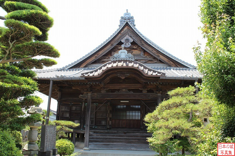 Nagoya Castle Relocated domain school (Main hall of Eisho temple)