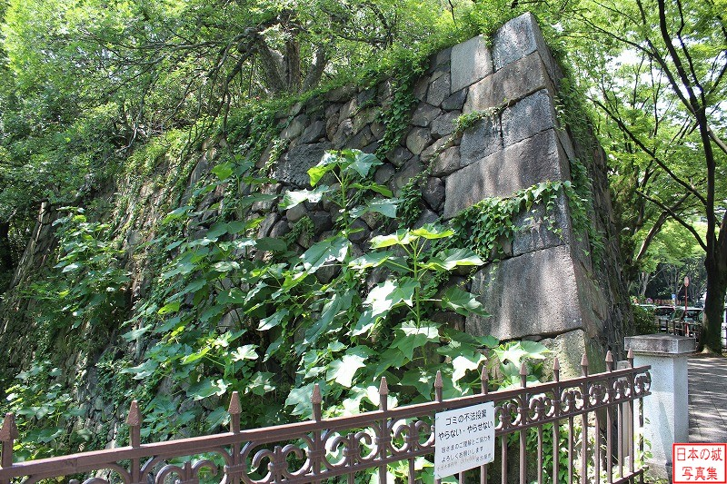 Nagoya Castle The ruins of Motomachi gate
