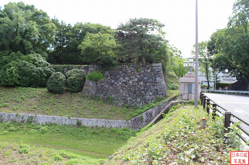 Nagoya Castle The ruins of East gate