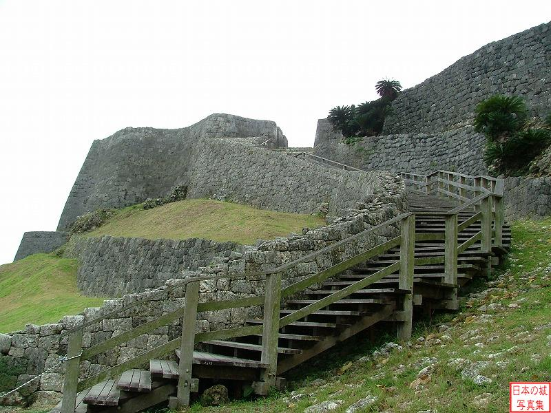 Katsuren Castle Step to Third enclosure