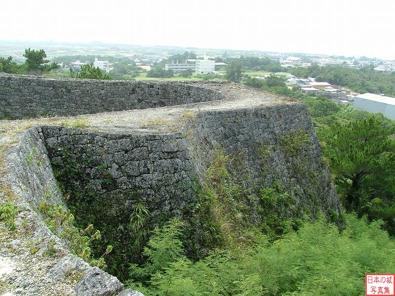 Zakimi Castle Main enclosure