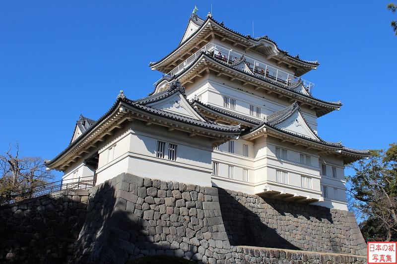 Odawara Castle Main tower