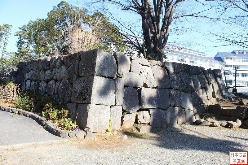 Odawara Castle The ruins of Hakone gate