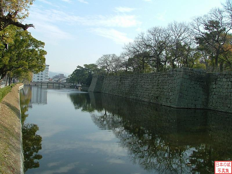 Marugame Castle Outer moat