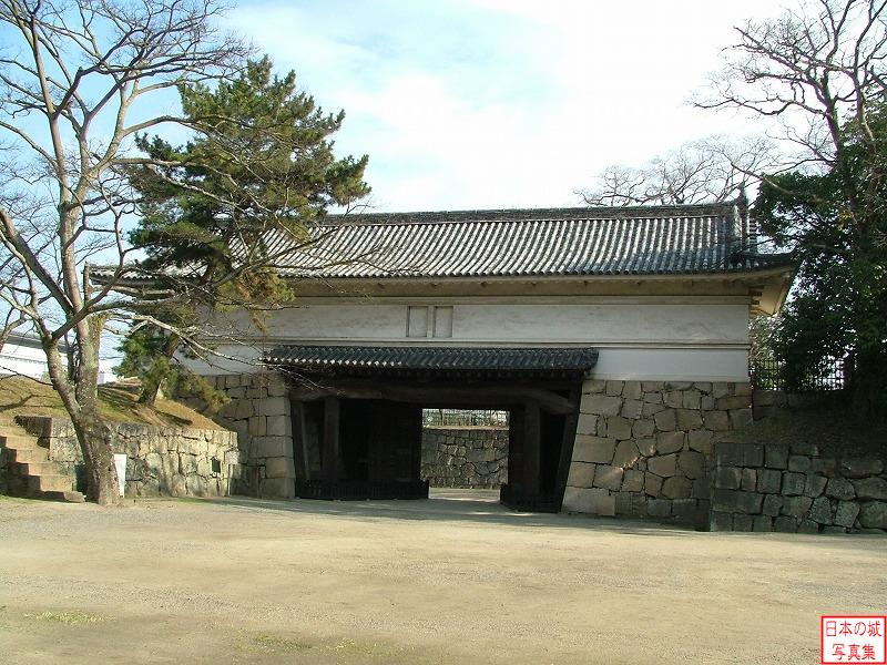 Marugame Castle First gate of Main gate