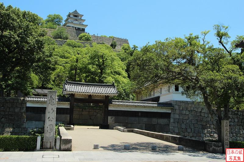 Marugame Castle Second gate of Main gate
