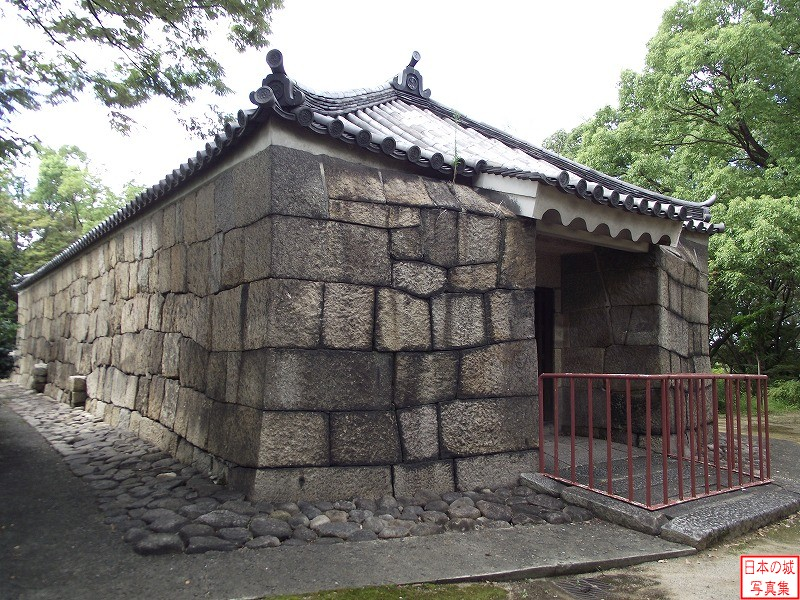 Osaka Castle Shouen storehouse (Nishinomaru enclosure)
