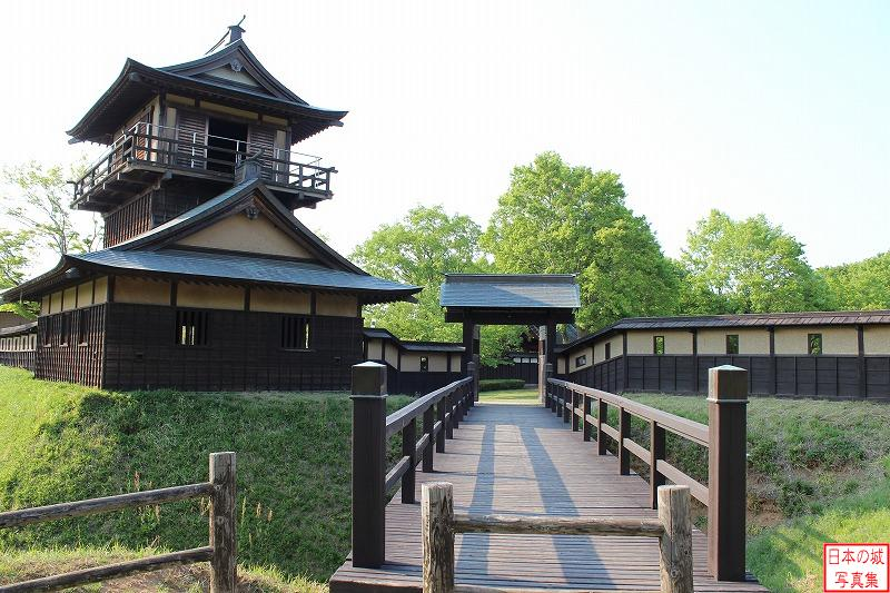 Sakai Castle Bridge and Yakui gate