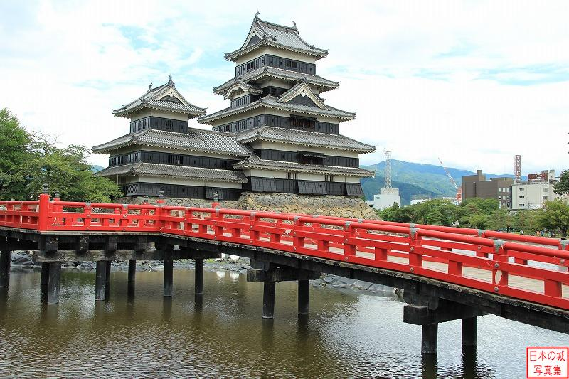 Matsumoto Castle Uzuinohashi bridge