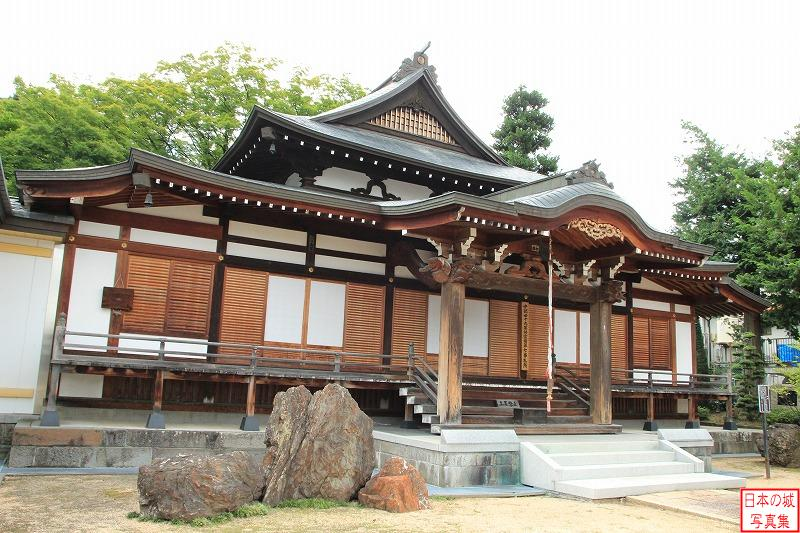 Takashima Castle Relocated No stage (Main hall of Onsen temple)