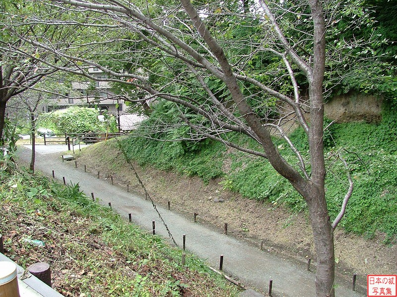 Ueda Castle Second enclosure moat