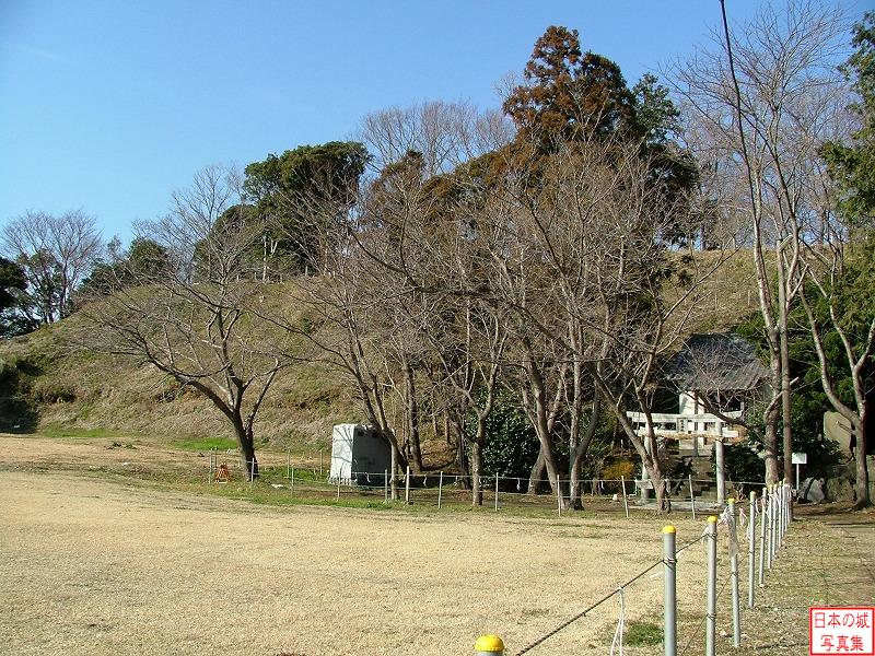 Koukokuji Castle Main enclosure