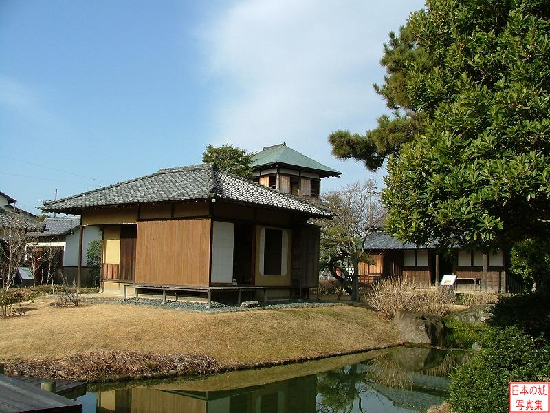 Tanaka Castle Houses for tea ceremony