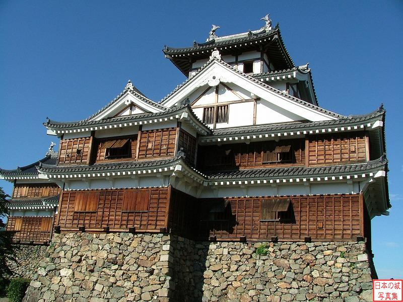 Fukuchiyama Castle Big main tower