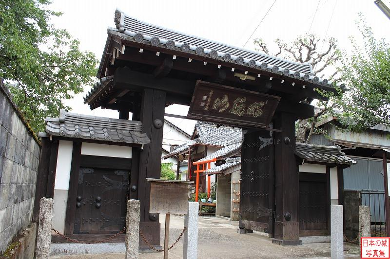 Fukuchiyama Castle Relocated gate (Main gate of Seigan temple)