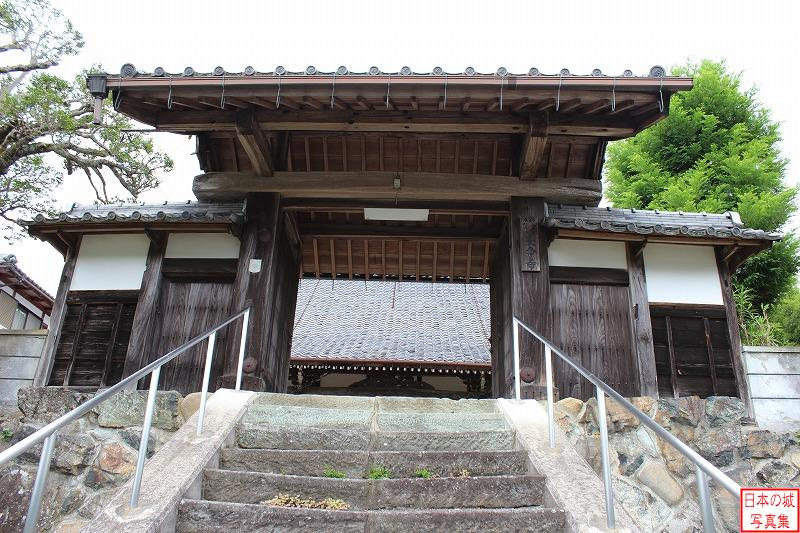 Fukuchiyama Castle Relocated gate (Main gate of Chome temple)