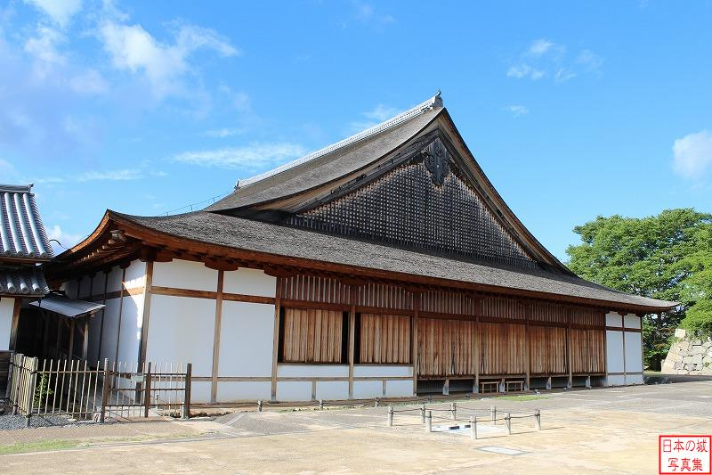 Sasayama Castle Big hall