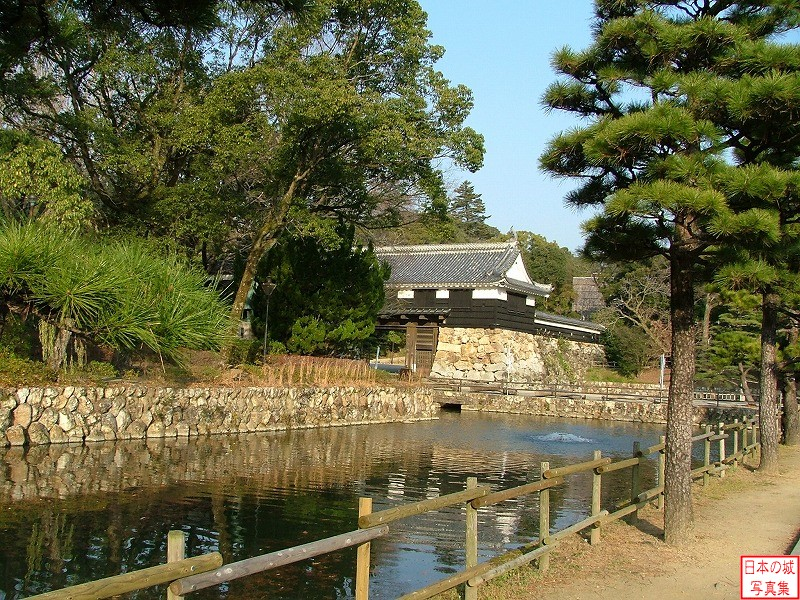 Kouchi Castle Water moat