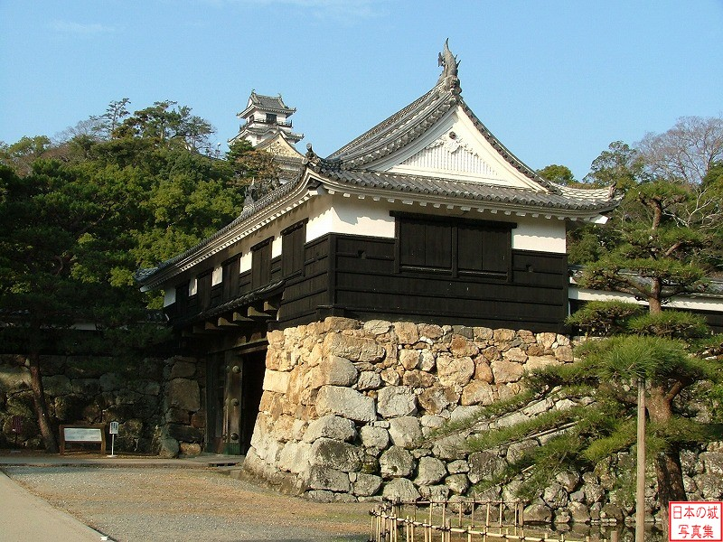 Kouchi Castle Main gate