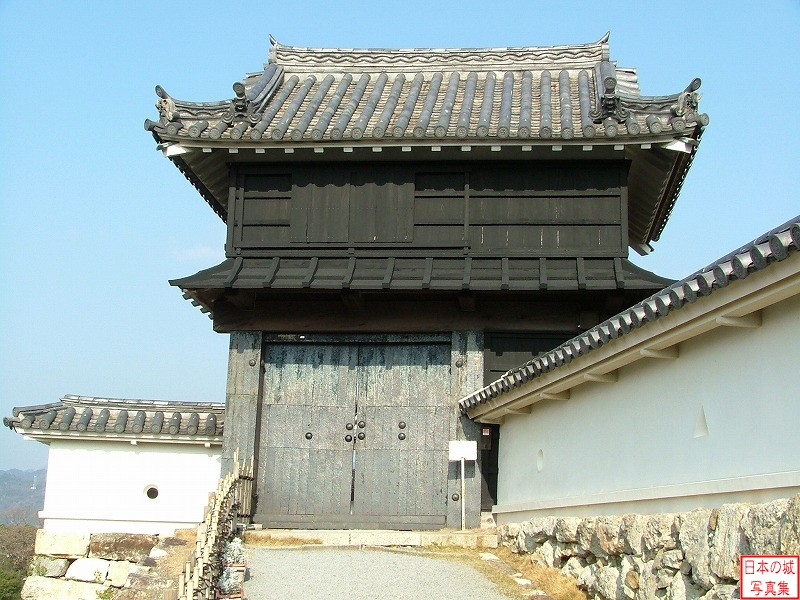 Kouchi Castle Kurogane gate (Main enclosure)