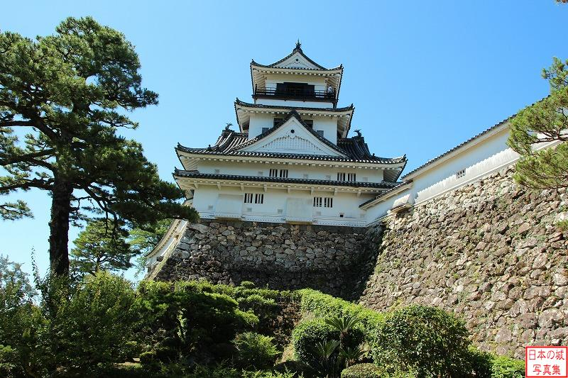 Kouchi Castle Main tower