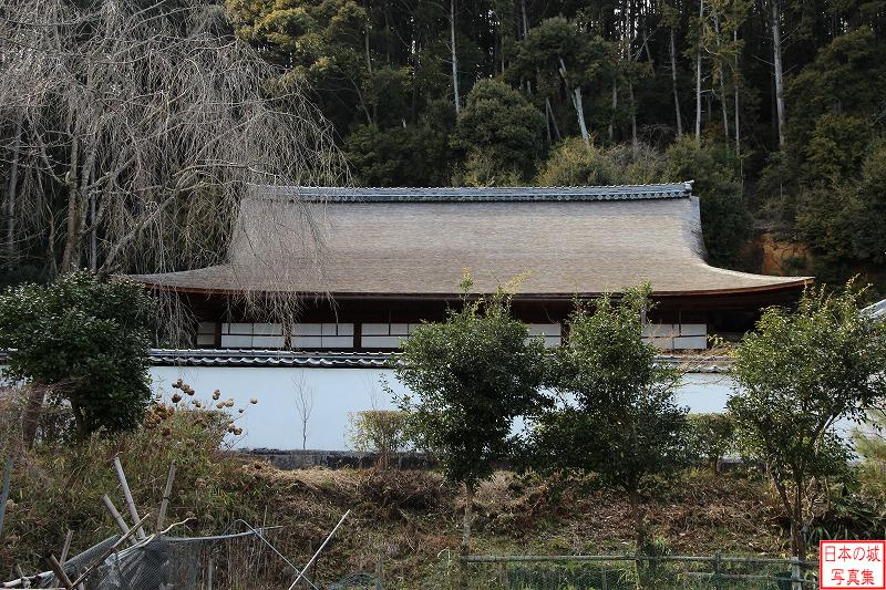 Fushimi Castle Relocated palace (Main hall of Shouden temple)